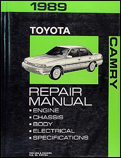 1989 Toyota Camry Repair Manual Original