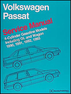 1990-1993 VW Passat Bentley Repair Manual