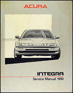 1990 Acura Integra Shop Manual Original