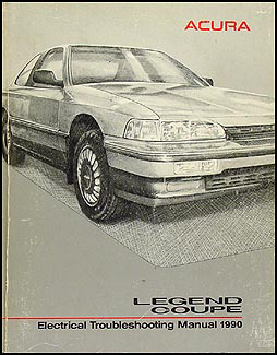 1990 Acura Legend Coupe Electrical Troubleshooting Manual Original