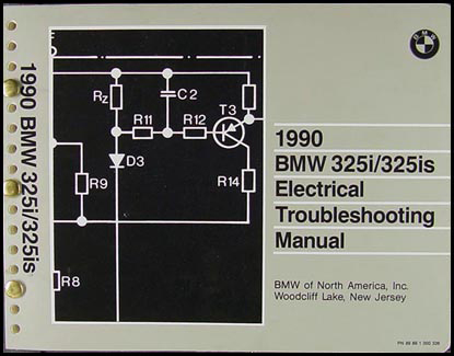 1990 BMW 325i/325is Electrical Troubleshooting Manual
