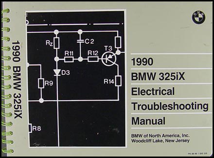 1990 BMW 325iX Electrical Troubleshooting Manual