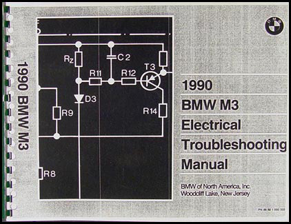 1990 BMW M3 Electrical Troubleshooting Manual