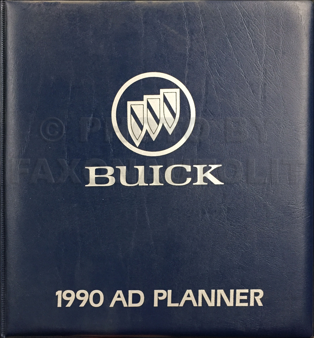 1990 Buick Dealer Advertising Planner Original