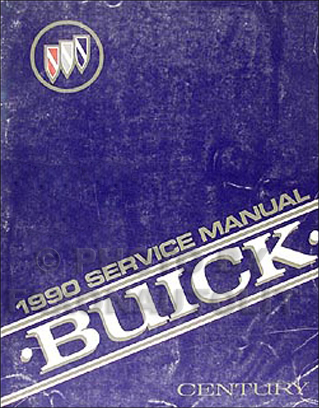 1990 Buick Century Repair Manual Original