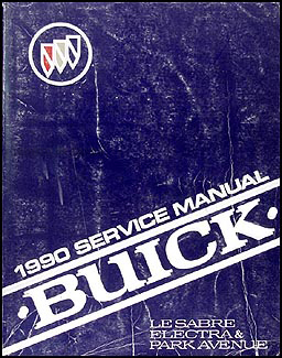 1990 Buick LeSabre & Electra/Park Avenue Repair Manual Original