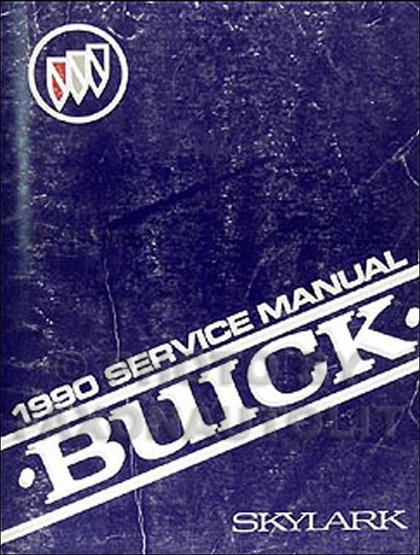 1990 Buick Skylark Shop Manual Original