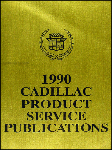 1990 Cadillac Product Bound Service Bulletins - Updates to Repair Shop Manual