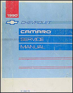 1990 Chevy Camaro Repair Manual Original