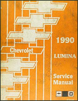 1990 Chevy Lumina Car Repair Manual Original