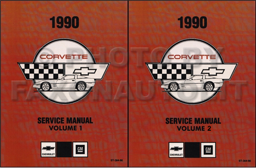 1989 Corvette Shop Manual Original