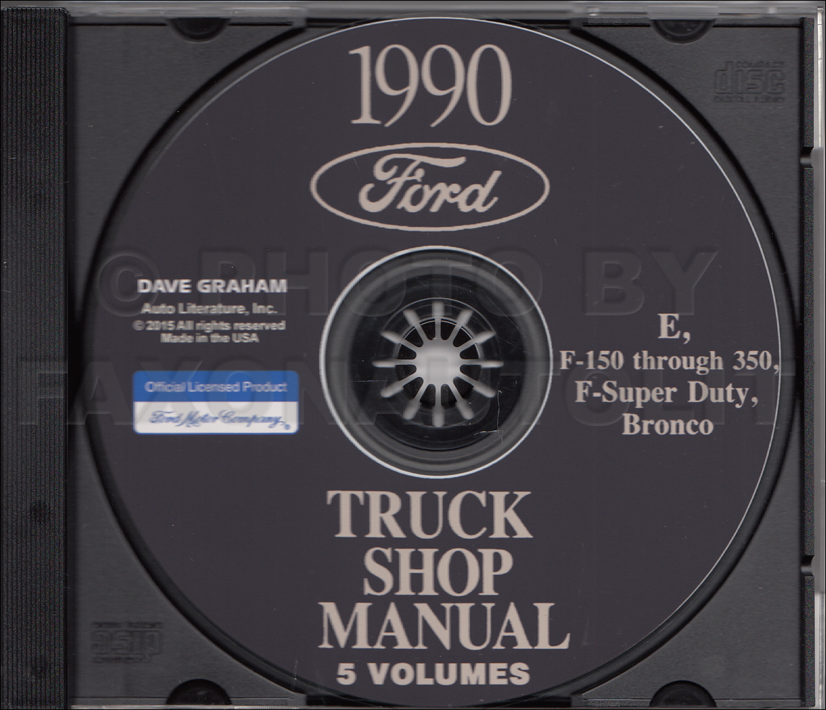 1979 Ford Truck CD Shop Manual 79 F100-350 Pickup Bronco and Van
