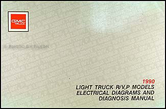 1990 GMC P-Chassis Wiring Diagram Motorhome Stepvan Value Van FC