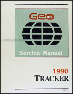 1990 Geo Tracker Repair Manual Original