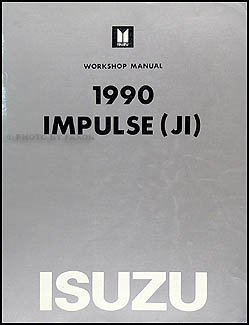 1990 Isuzu Impulse Electrical Troubleshooting Manual Original
