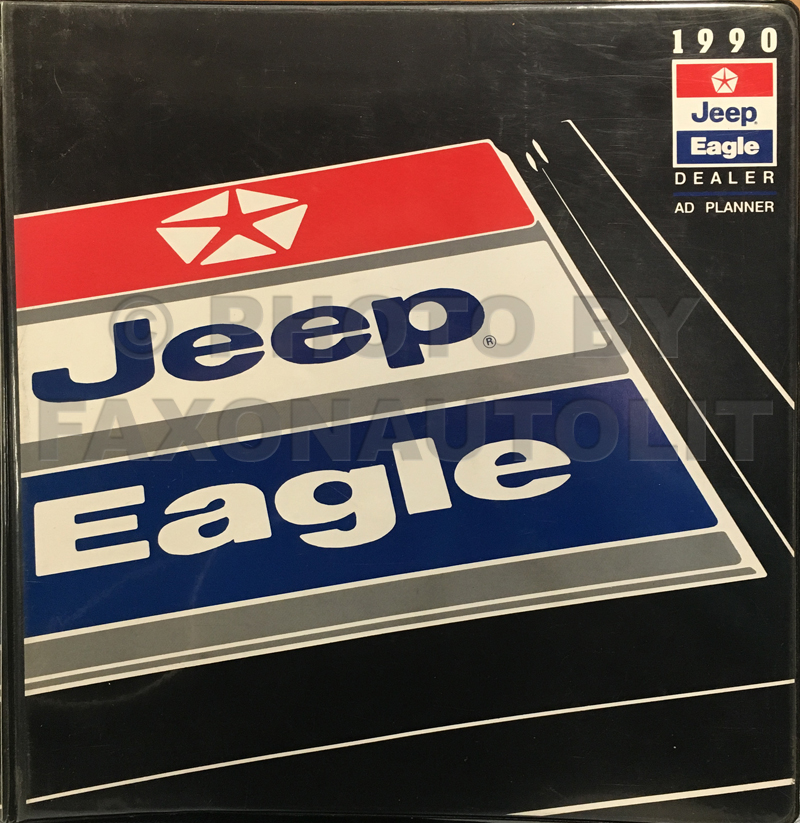 1990 Jeep/Eagle Dealer Advertising Planner Original