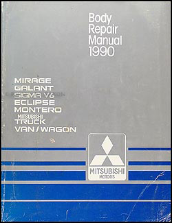 1990 Mitsubsihi Body Manual Original