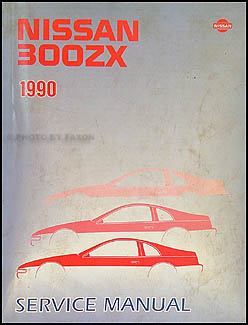 1990 Nissan 300ZX Repair Manual Original
