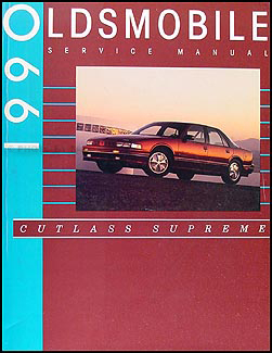 1990 Oldsmobile Cutlass Supreme Repair Manual Original