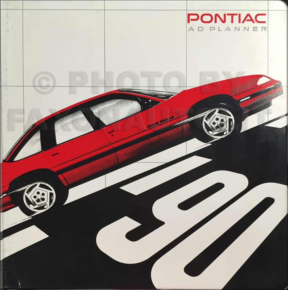 1990 Pontiac Dealer Advertising Planner Original