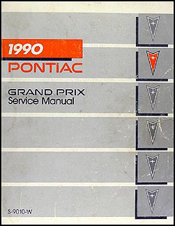1990 Pontiac Grand Prix Repair Manual Original