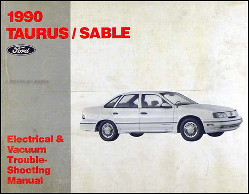 1990 Ford Taurus Mercury Sable Electrical Troubleshooting Manual
