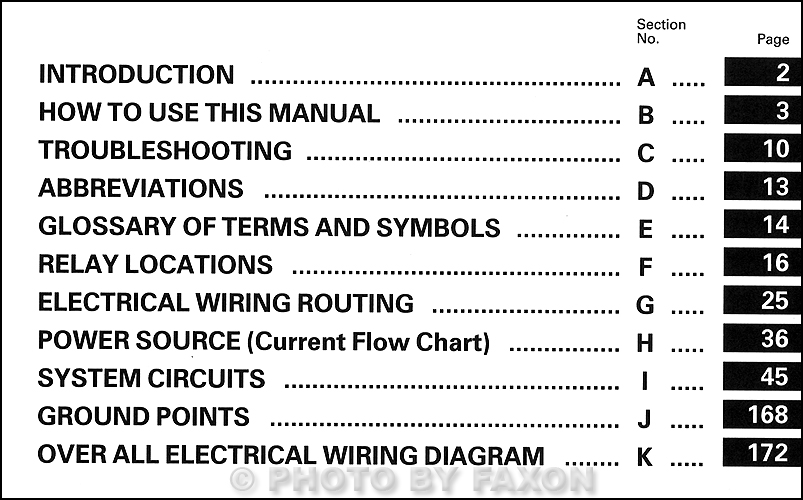 1990 Toyota Celica All Trac 4WD Wiring Diagram Manual Original