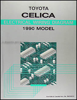 1990 toyota celica wiring diagram manual original rh faxonautoliterature com Toyota Radio Wiring Harness Diagram Toyota Radio Wiring Harness Diagram