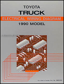 1990 toyota pickup truck wiring diagram manual original 1993 toyota pickup wiring schematic 1990 toyota pickup wire diagram wiring schematic #9