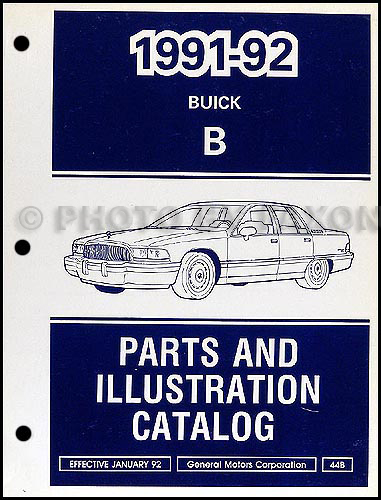 1992 Buick Roadmaster Abs  U0026 Electrical Repair Shop Manual