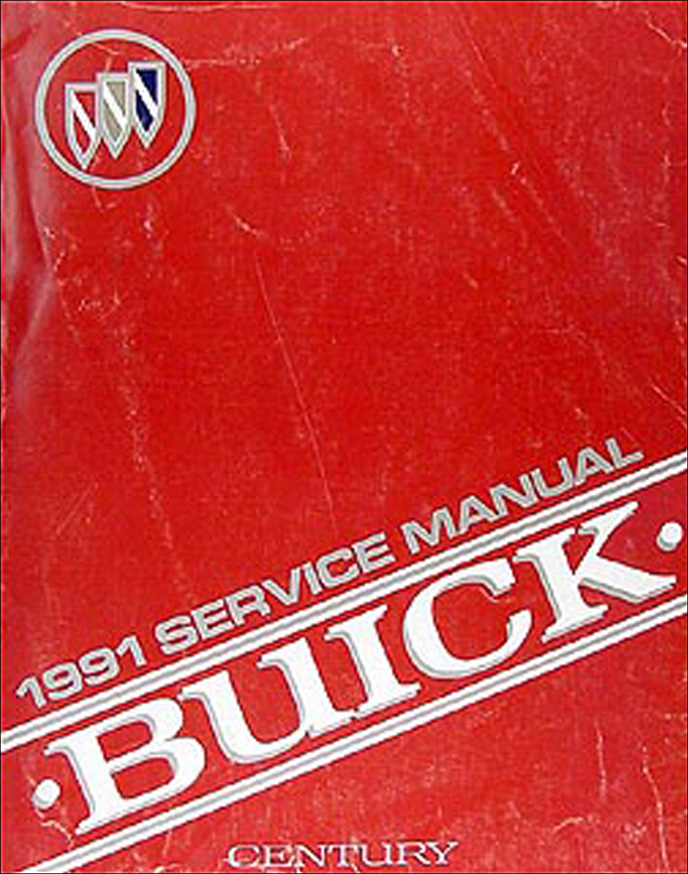 1991 Buick Century Repair Manual Original
