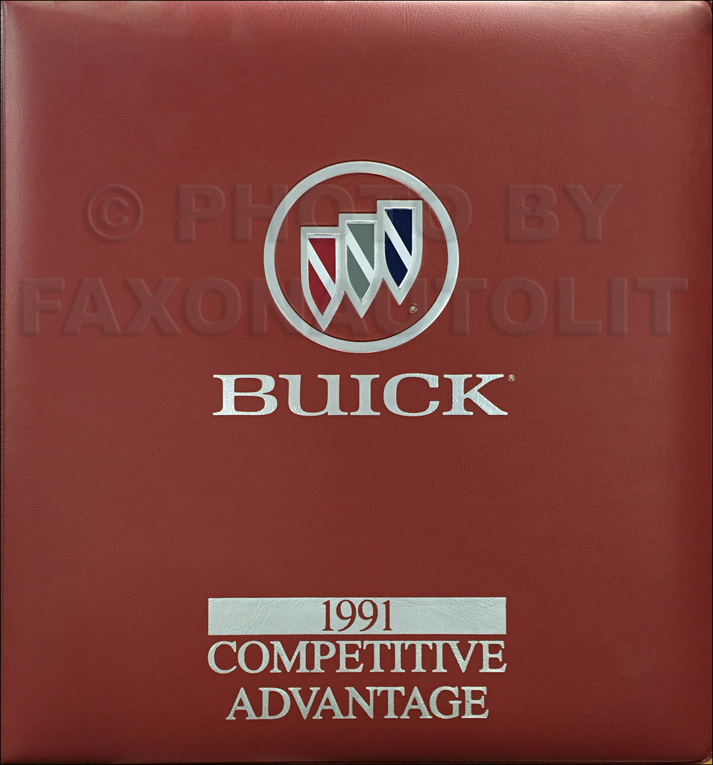 1991 Buick Competitive Comparison Dealer Album Original