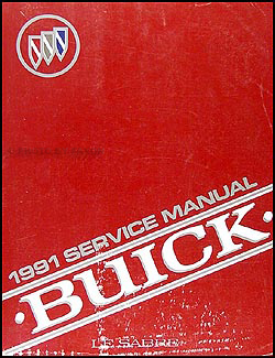 1991 Buick LeSabre Repair Manual Original