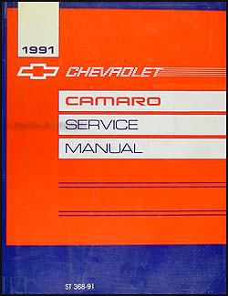 1991 Chevy Camaro Repair Manual Original