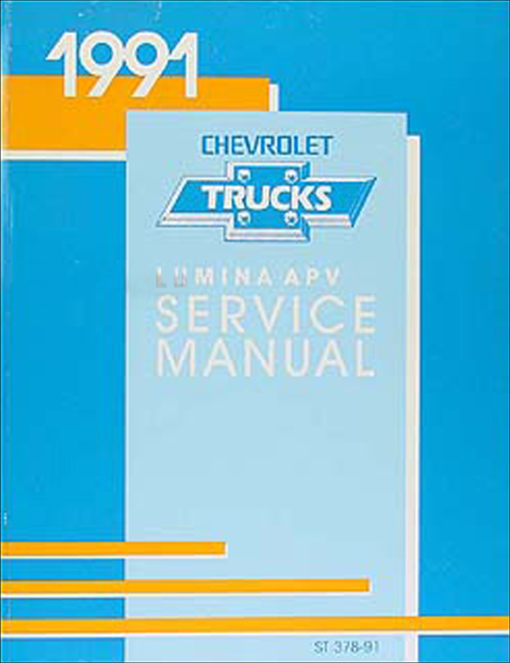 1991 Chevy Lumina APV Minivan Repair Manual Original