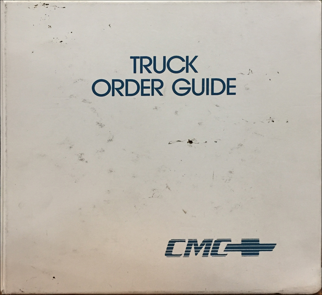 1991 Chevrolet Truck Order Guide Dealer Album Original