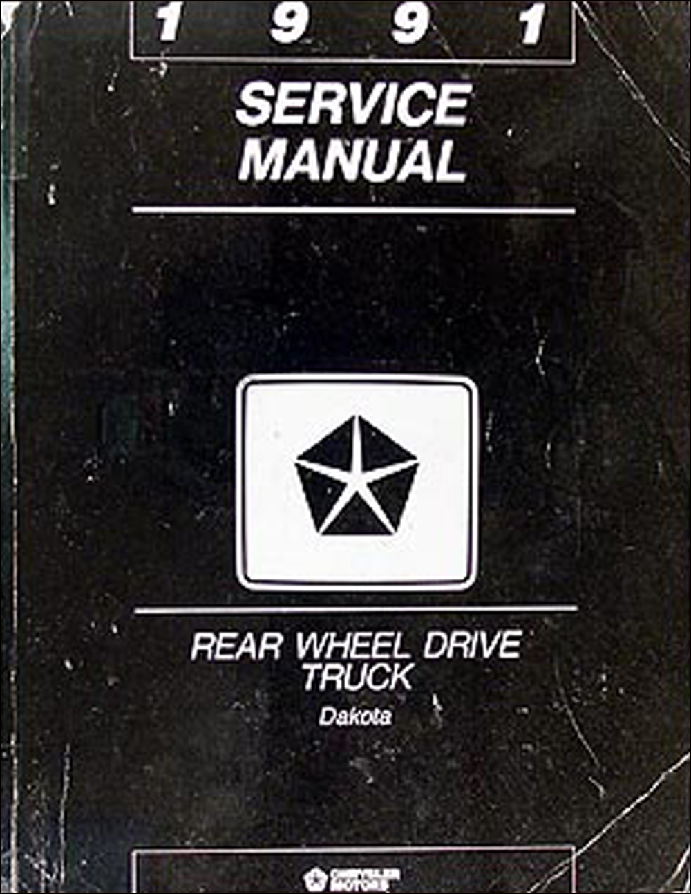 1991 Dodge Dakota Repair Manual Original