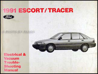 1991 ford escort mercury tracer electrical troubleshooting manual 1993 Mercury Tracer Specifications