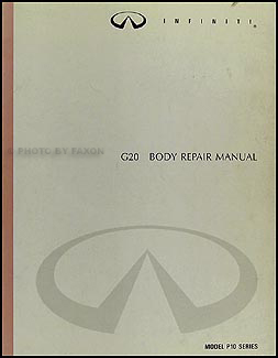 1991-1996 Infiniti G20 Body Repair Manual Original