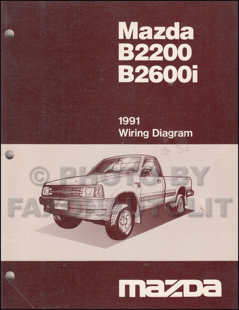 search 1991 mazda b2200 engine diagram 1991 mazda b2600i b2200 pickup truck wiring  diagram manual original