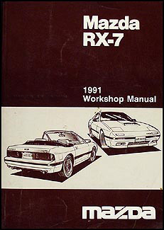 1991 Mazda RX-7 Repair Manual Original