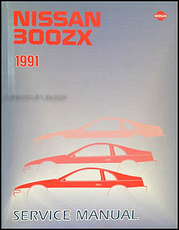 1991 Nissan 300ZX Repair Manual Original