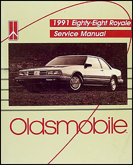 1991 Oldsmobile Eighty Eight 88 Royale Shop Manual Original