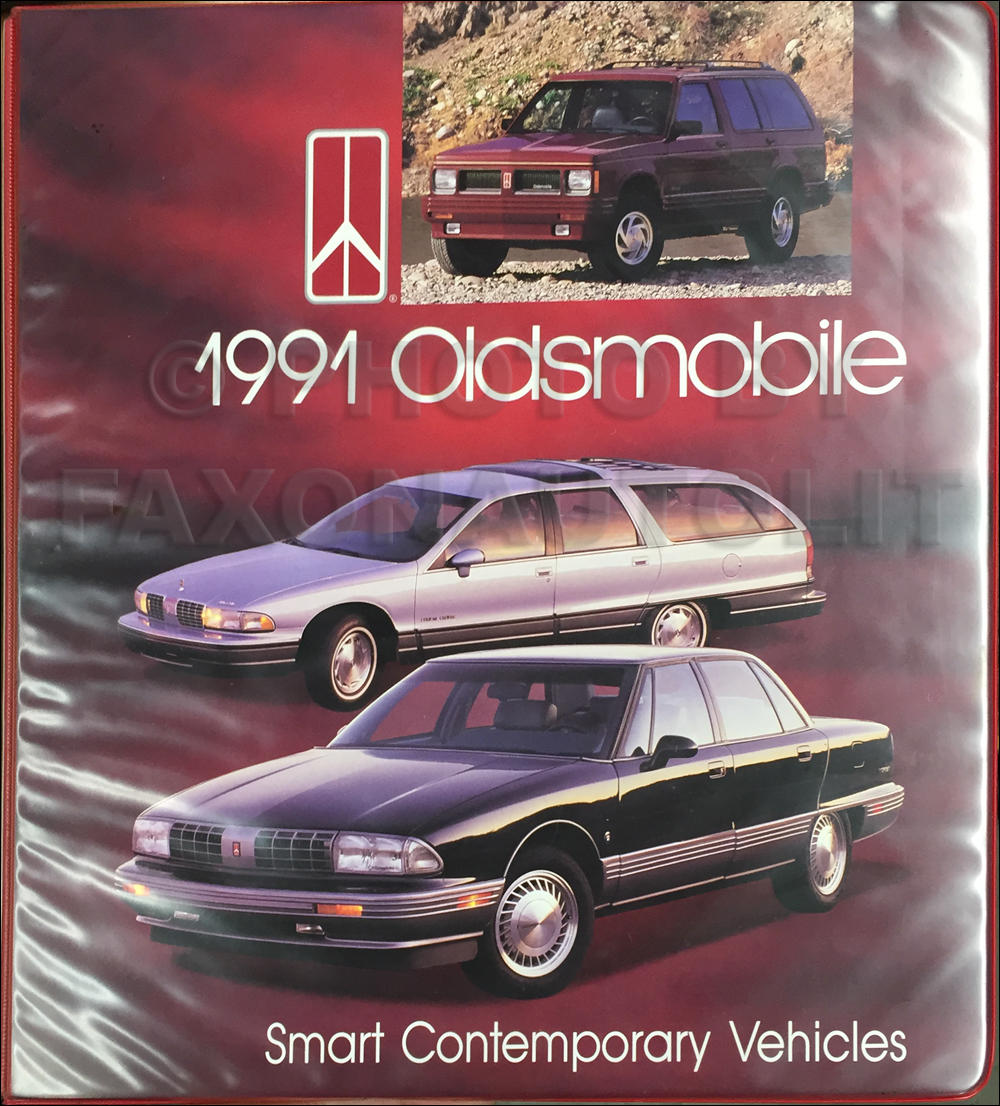 1991 Oldsmobile Advanced Press Kit Original
