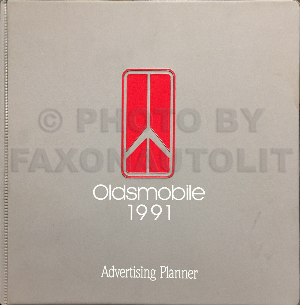 1991 Oldsmobile Dealer Advertising Planner Original