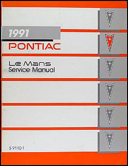 1991 Pontiac LeMans Repair Manual Original