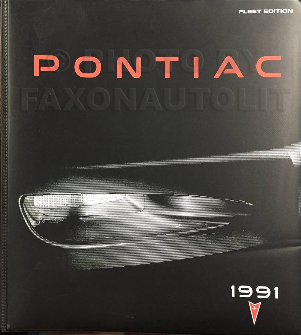 1991 Pontiac Sales Manual Data Book Dealer Album FLEET Edition Original