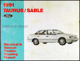 1991 Ford Taurus Mercury Sable Electrical Troubleshooting Manual