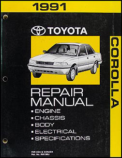 1999 toyota corolla service repair manual software