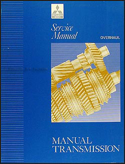 1992-1994 Mitsubishi Manual Transmission Overhaul Manual Original